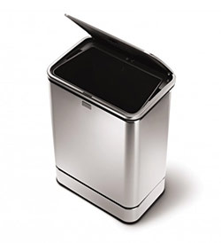 simplehuman trash can