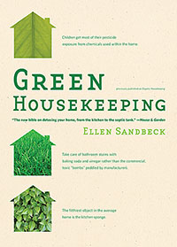 Green Cleaning: Green Housekeeping by Ellen Sandbeck, Healthy Home & Green Living Books & Videos - HealthyHouseInstitute.com