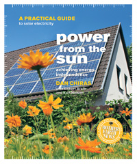 Solar Energy: Power From the Sun by Dan Chiras, Healthy Home & Green Living Books & Videos - HealthyHouseInstitute.com